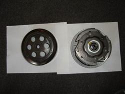 250cc Complete Clutch Assembly